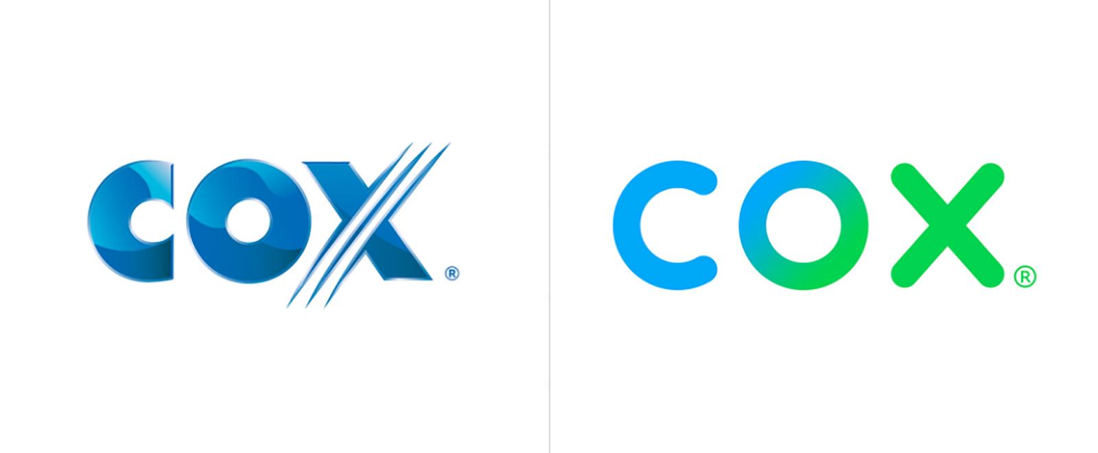 Cox通信品牌更新全新的品牌VI视觉形象设计-深圳VI设计