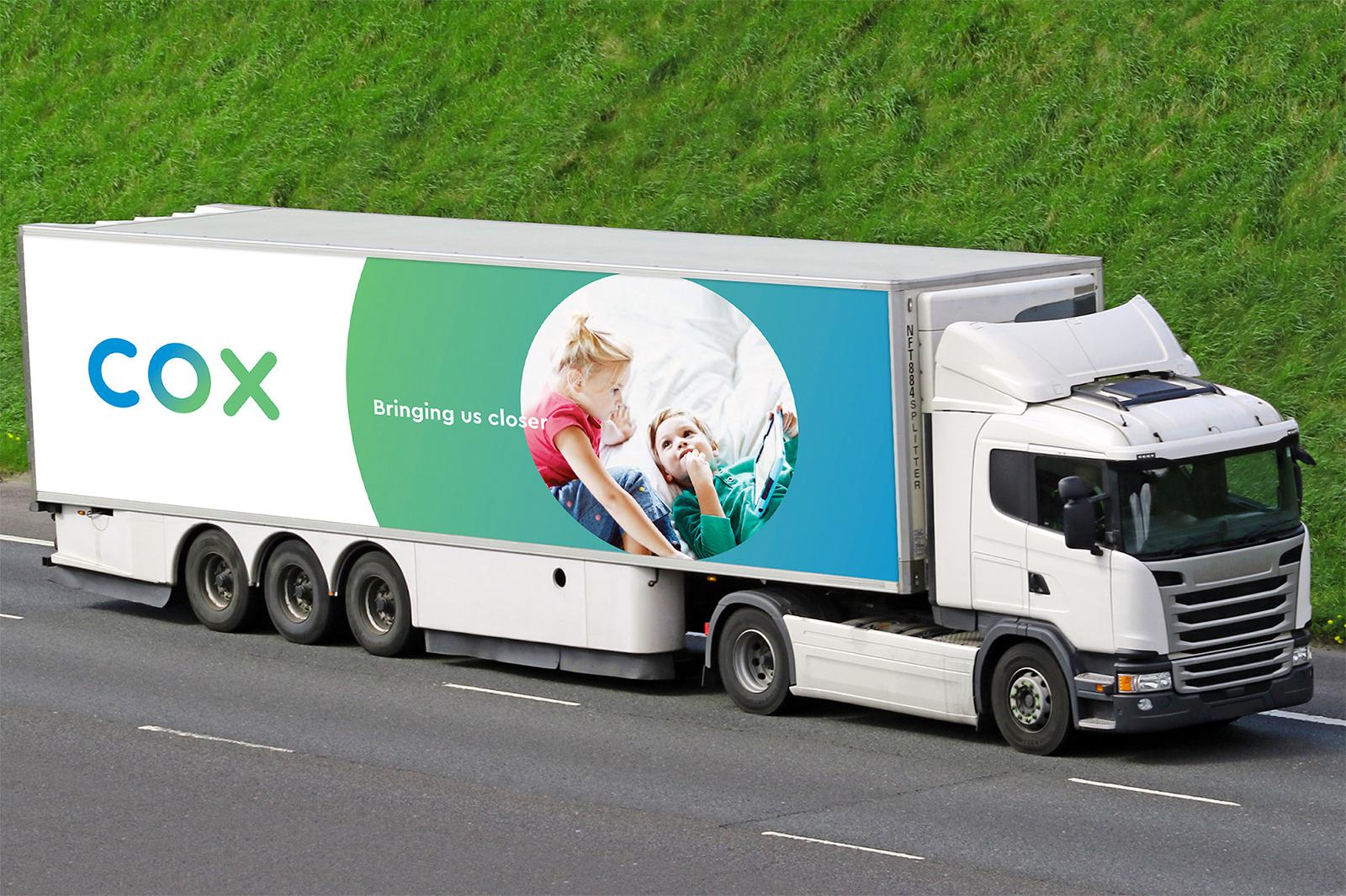 Cox通信品牌更新全新的品牌VI视觉形象设计-深圳VI设计5