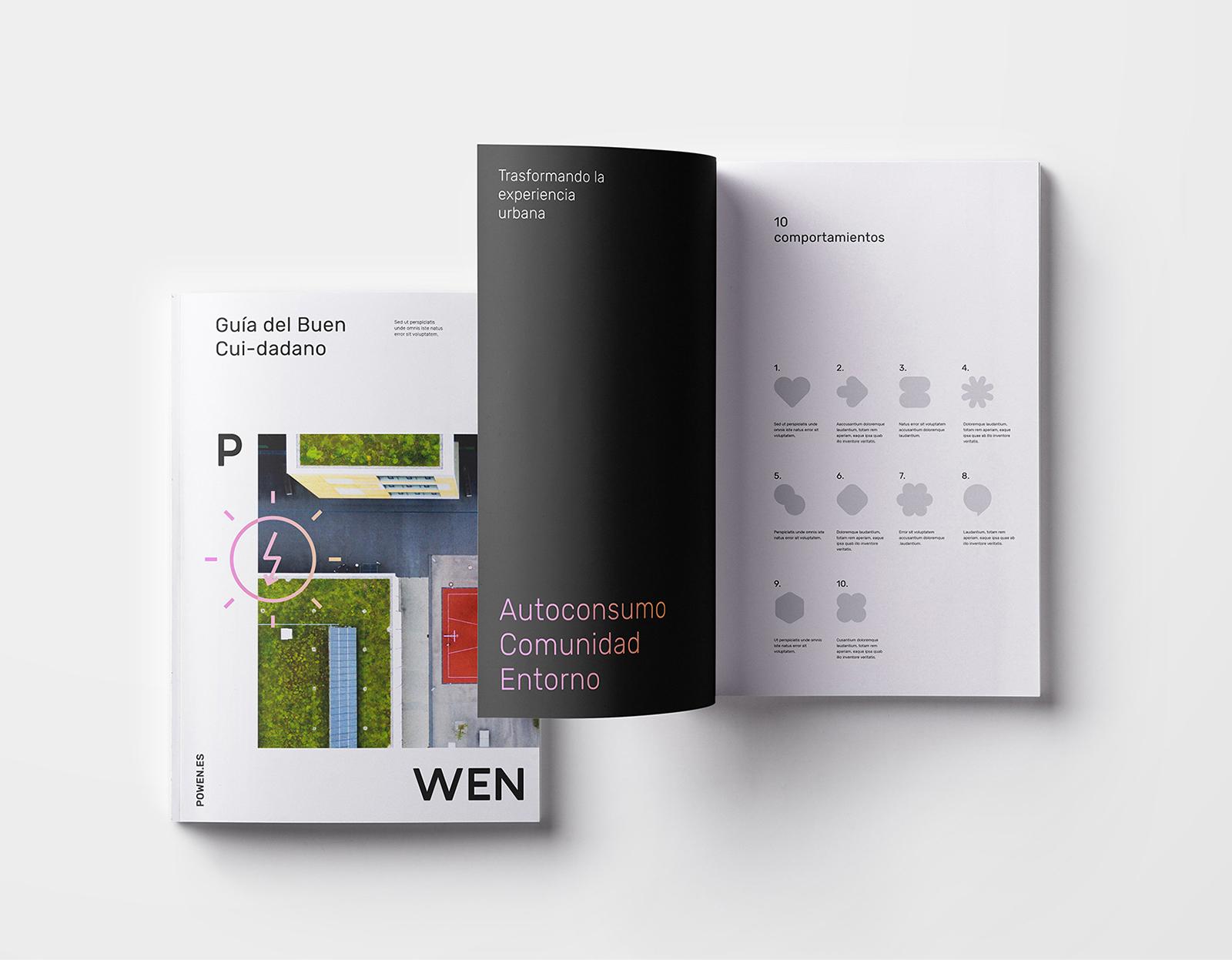 POWEN品牌全新視覺VI形象設計欣賞-VI設計7