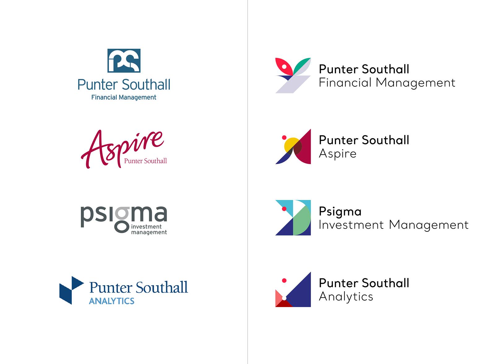 Punter Southall Group集团品牌VI视觉形象设计欣赏-深圳VI设计3
