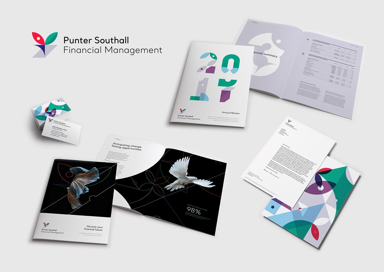 Punter Southall Group集团品牌VI视觉形象设计欣赏-深圳VI设计7