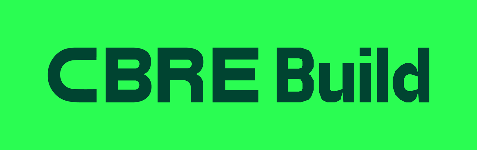 CBRE Build品牌啟動全新的LOGO和視覺VI形象-深圳VI設計