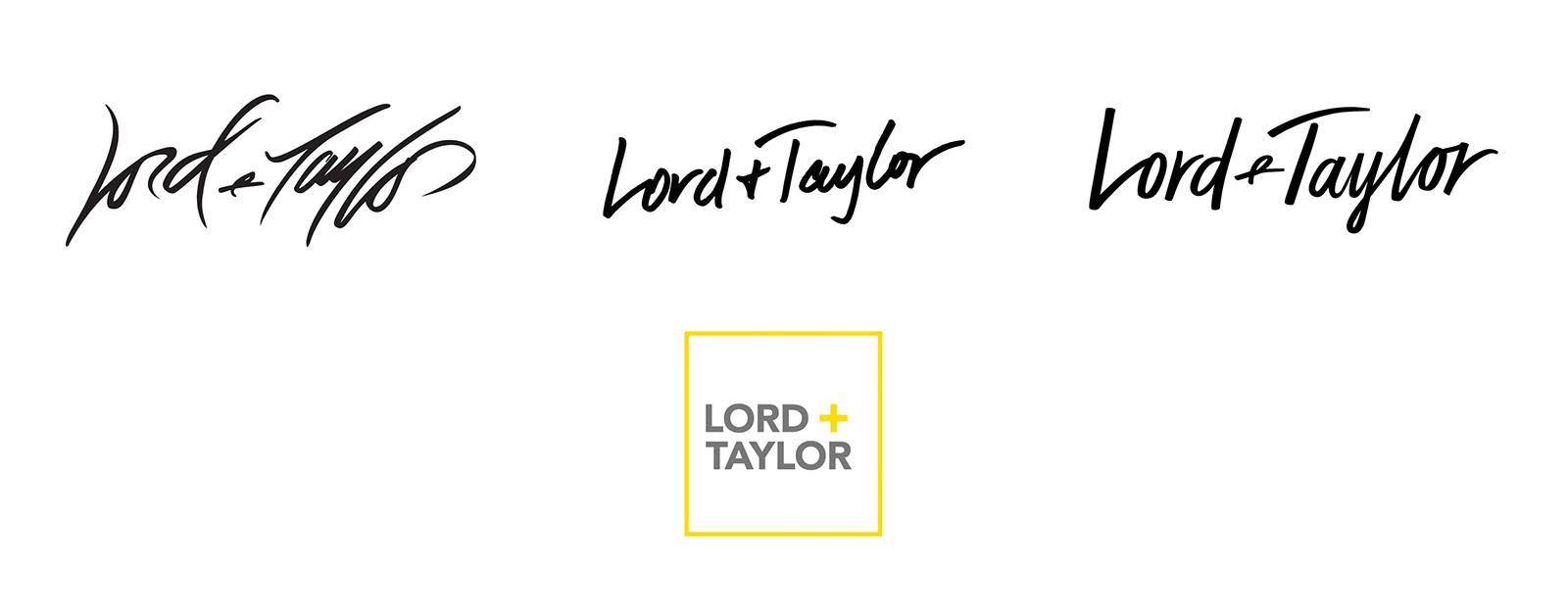 Lord + Taylor连锁商店品牌启用全新的品牌logo设计-深圳vi设计3