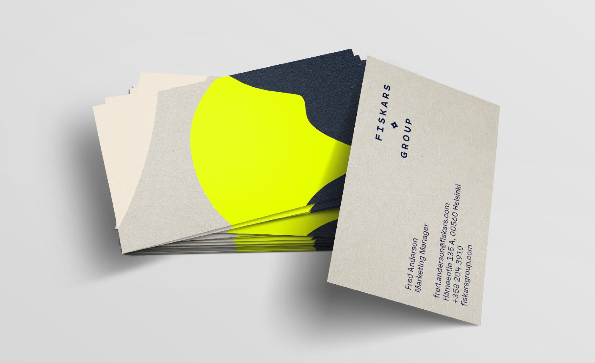 Fiskars Group 启用全新的品牌LOGO和VI形象设计-vi设计7