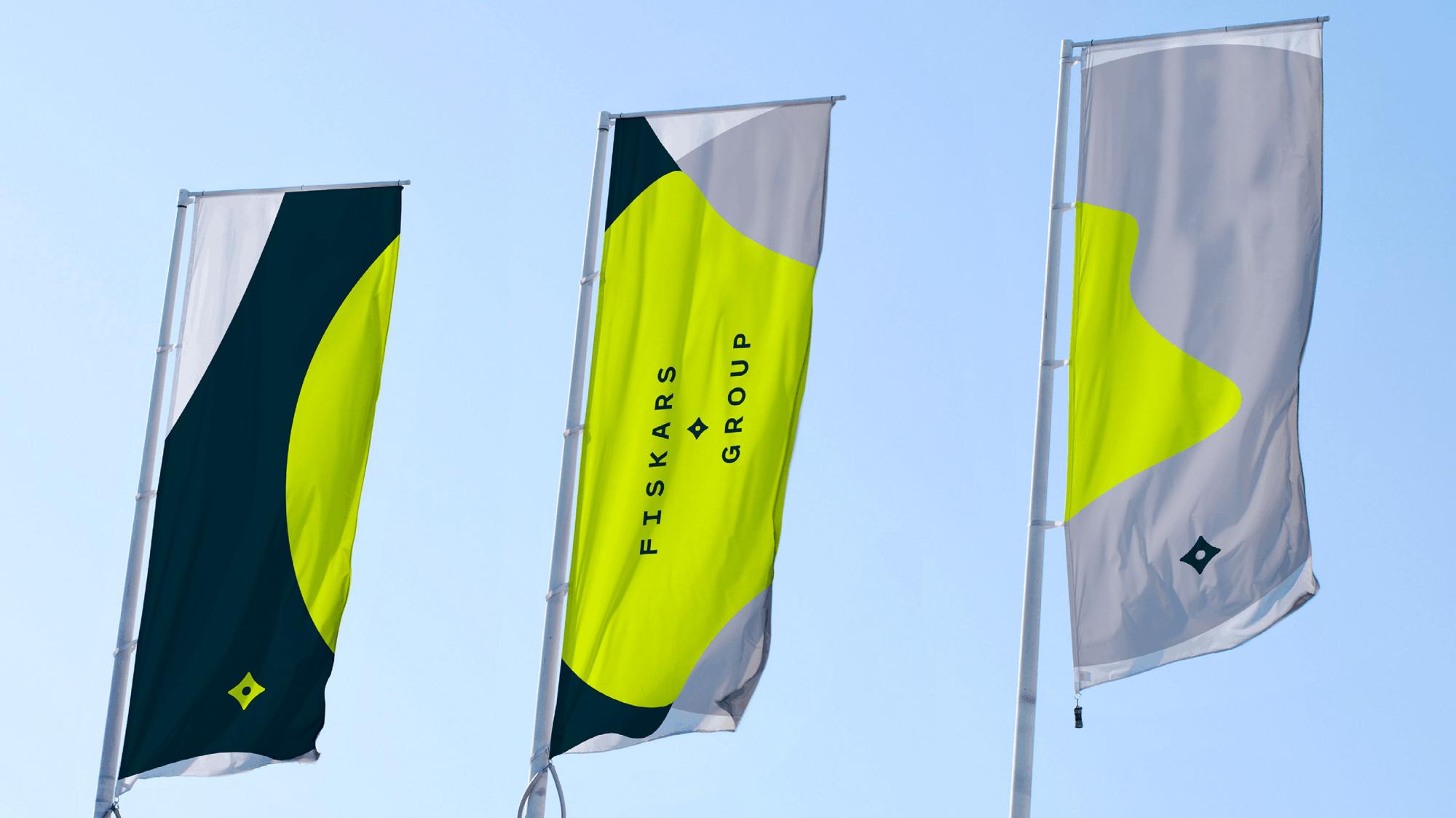 Fiskars Group 启用全新的品牌LOGO和VI形象设计-vi设计10