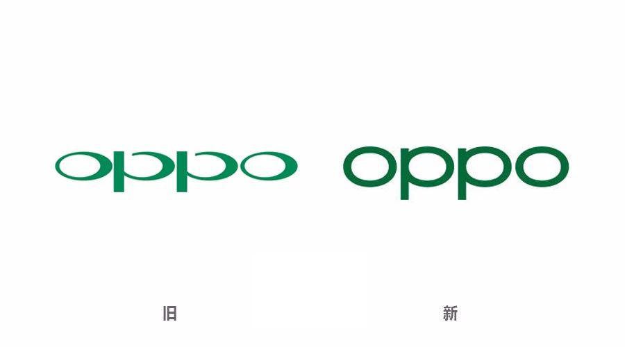 OPPO换新标志logo了!!全新形象,更加简洁!-深圳VI设计