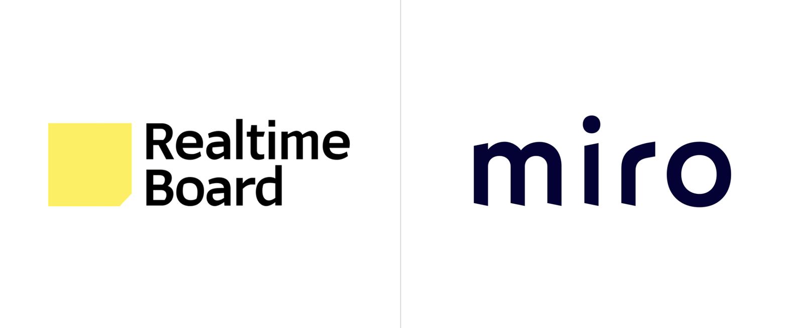 RealtimeBoard更名miro并启用全新的品牌logo和vi形象设计-深圳vi设计
