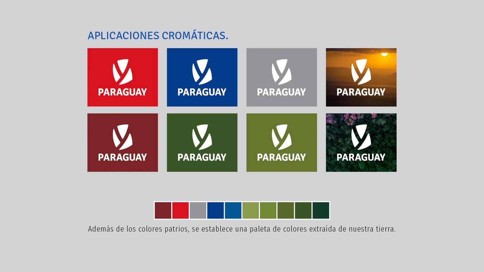 南美国家巴拉圭启用全新的国家形象并发布新的logo-深圳VI设计6