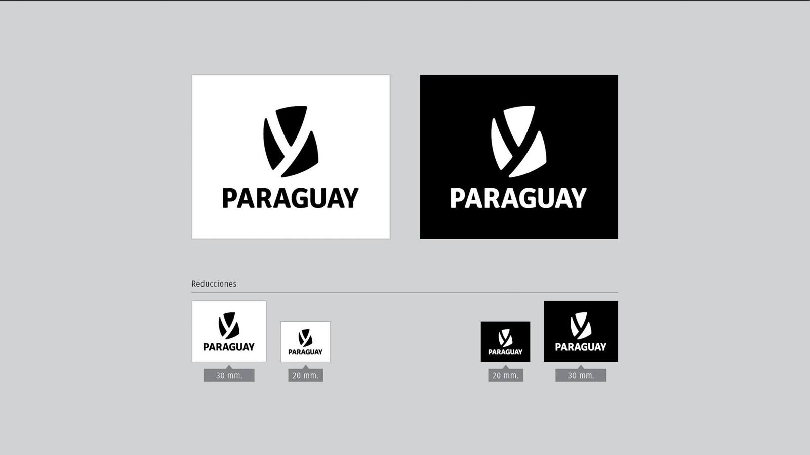 南美国家巴拉圭启用全新的国家形象并发布新的logo-深圳VI设计5