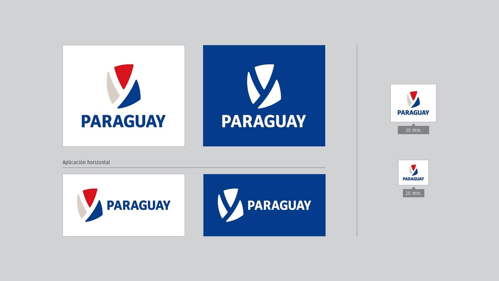 南美国家巴拉圭启用全新的国家形象并发布新的logo-深圳VI设计3