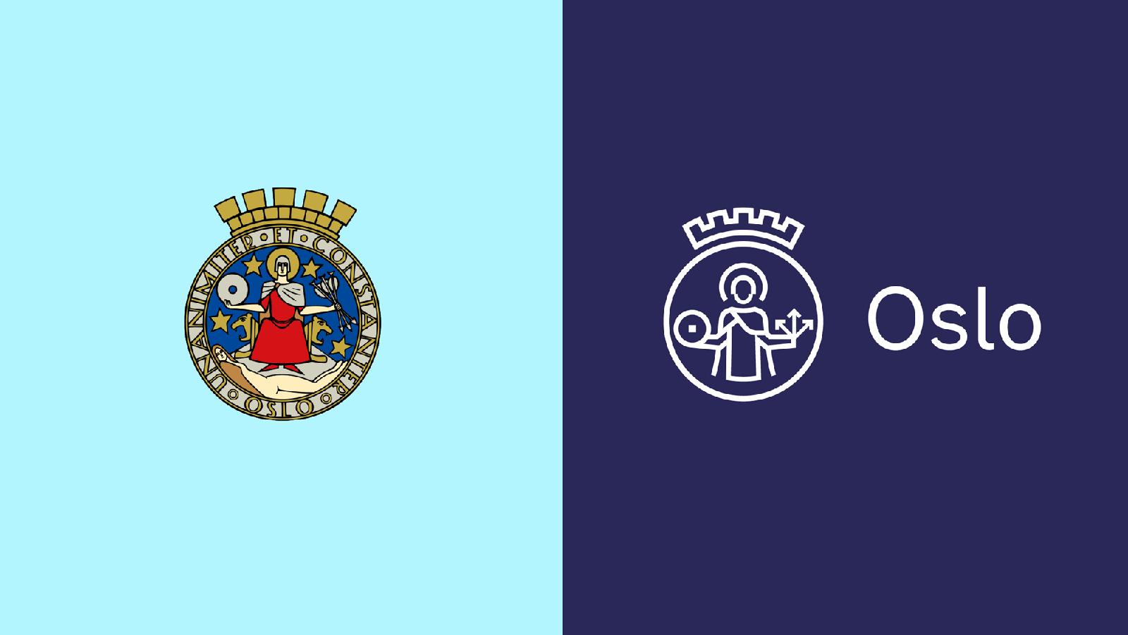挪威Oslo奥斯陆城市更新全新的品牌logo和vi形象设计-深圳vi设计2