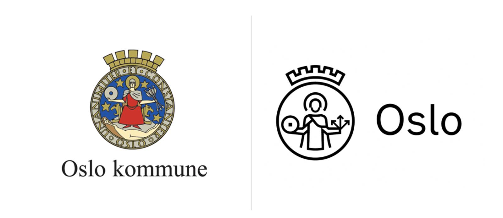 挪威Oslo奥斯陆城市更新全新的品牌logo和vi形象设计-深圳vi设计1