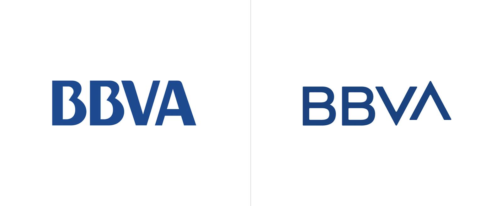 世界上最大的金融機構之一的BBVA啟動全新的品牌VI形象-深圳VI設計
