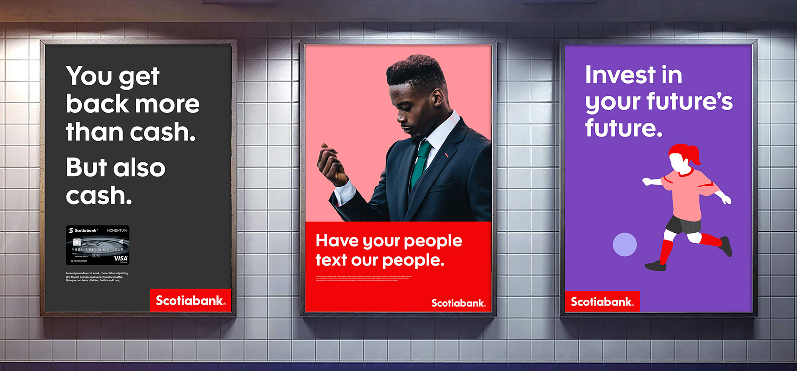 Scotiabank啟用全新的品牌logo和VI視覺形象設計-深圳VI設計9