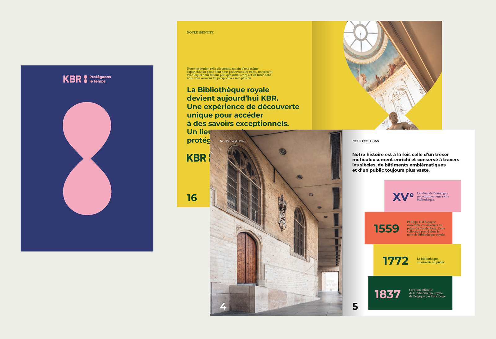 KBR比利时皇家图书馆启用全新的品牌VI形象设计-深圳VI设计9
