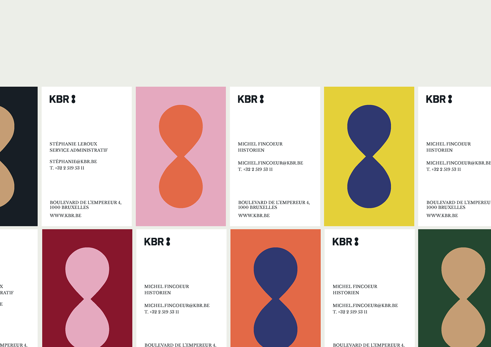 KBR比利时皇家图书馆启用全新的品牌VI形象设计-深圳VI设计7