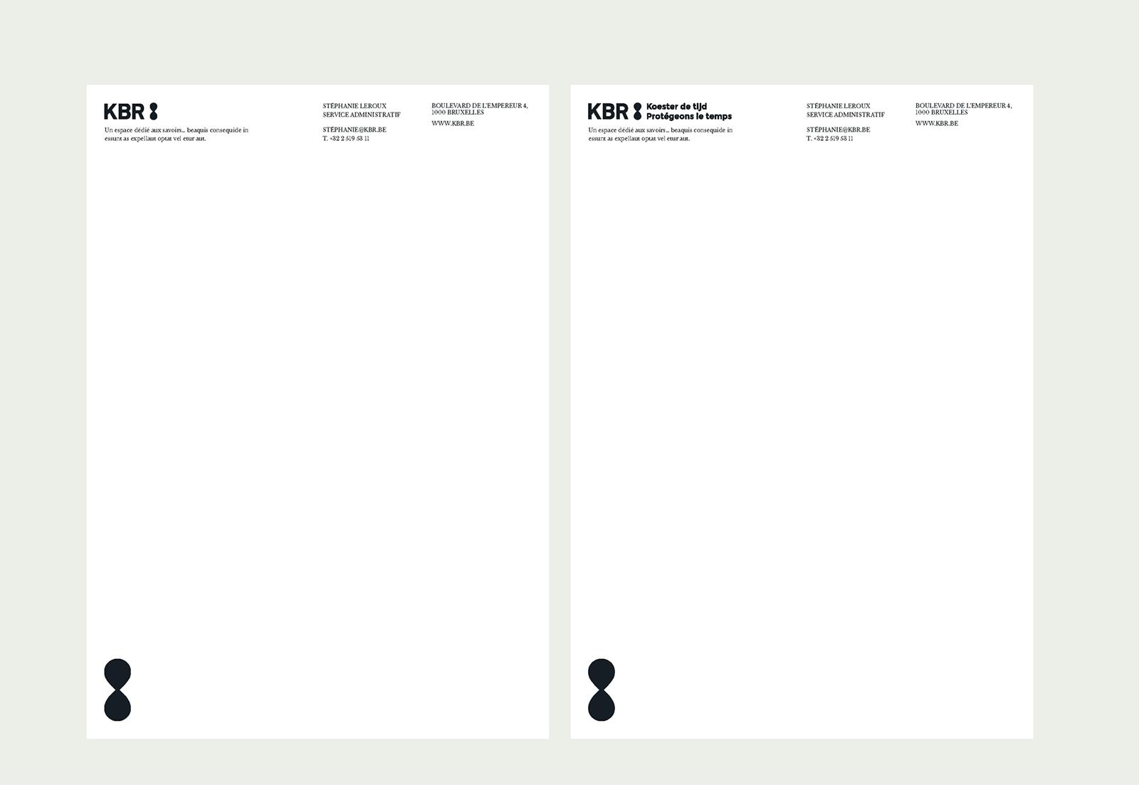 KBR比利时皇家图书馆启用全新的品牌VI形象设计-深圳VI设计4