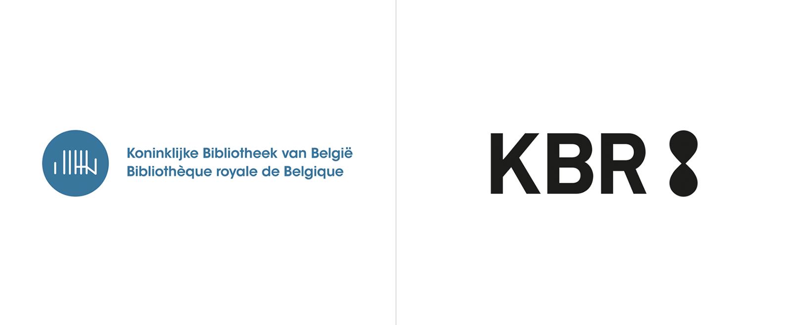 KBR比利时皇家图书馆启用全新的品牌VI形象设计-深圳VI设计1