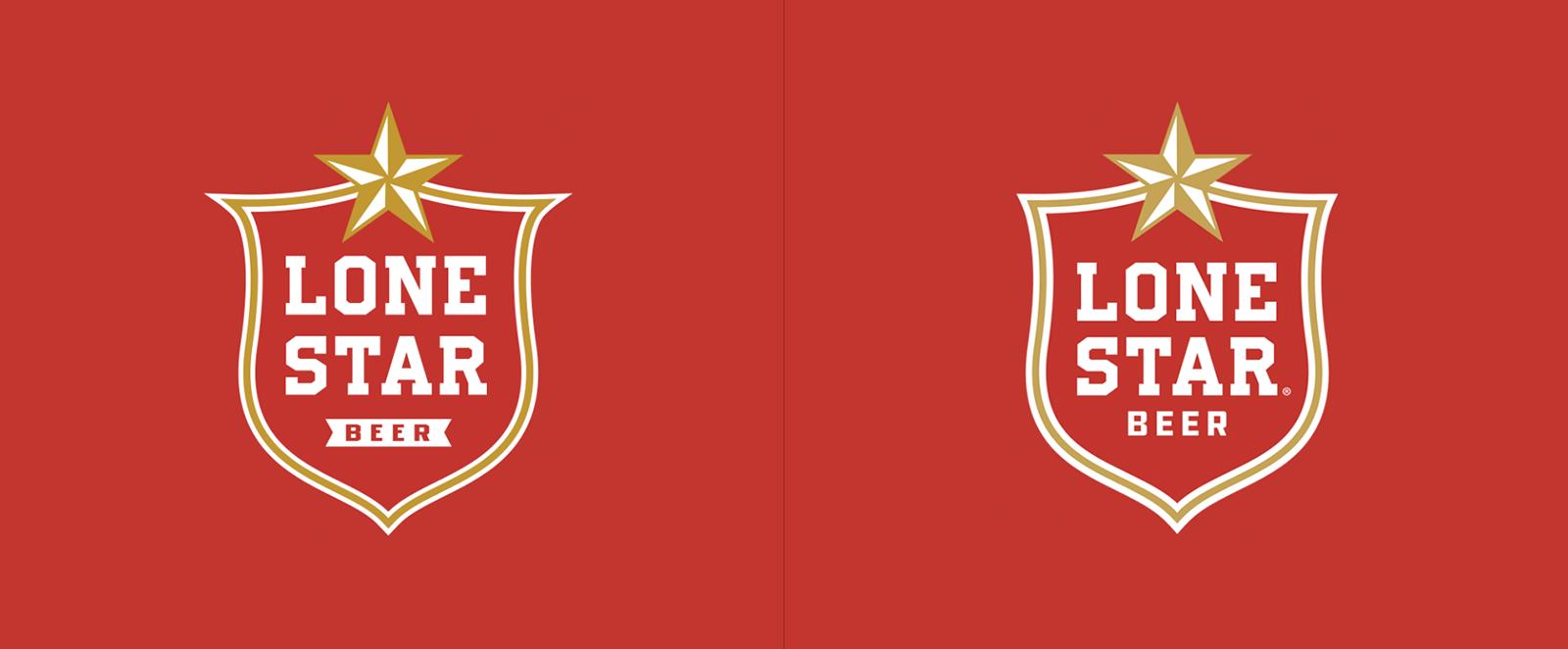 Lone Star孤星啤酒品牌更新全新的品牌VI视觉和包装设计-深圳VI设计