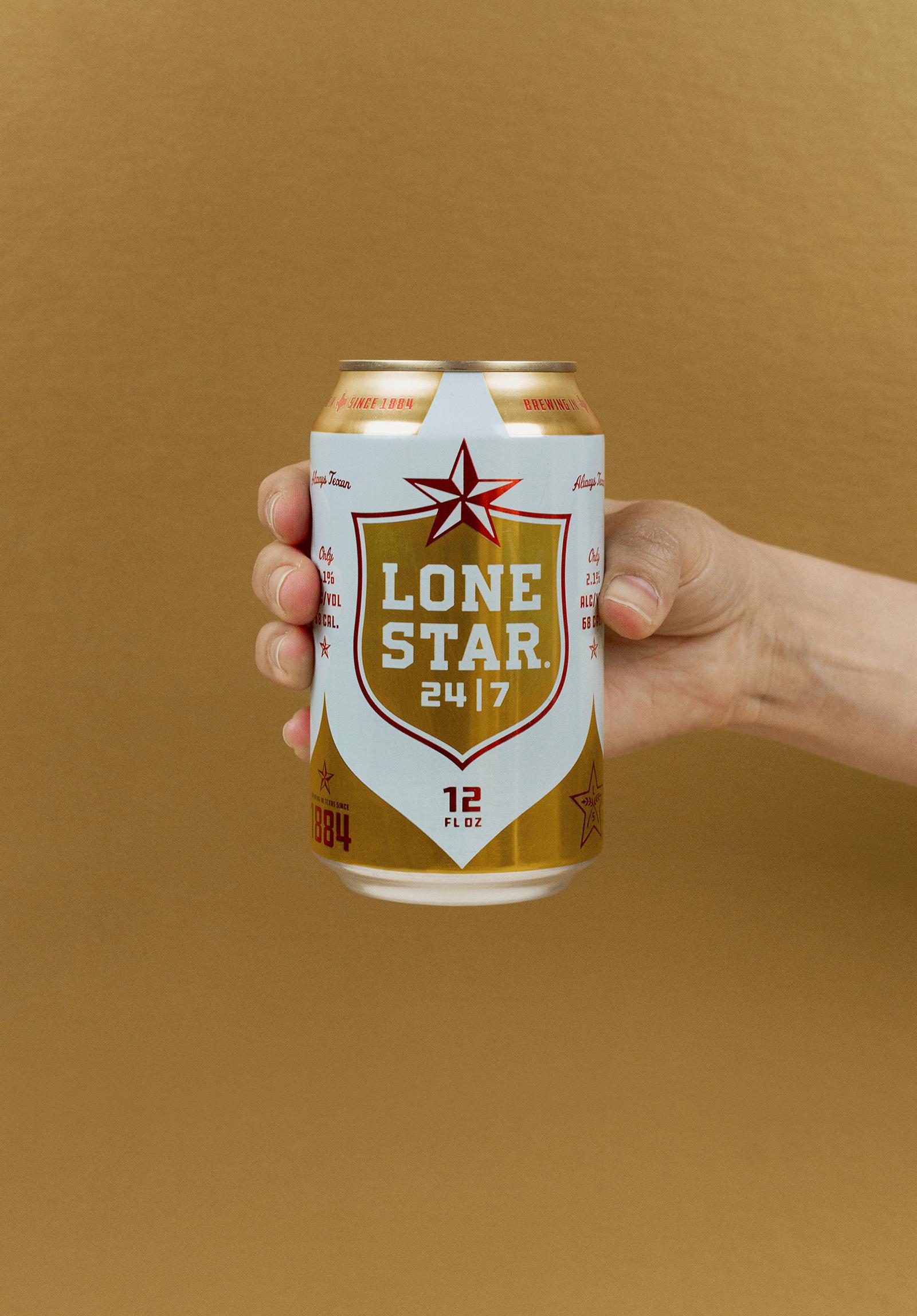 Lone Star孤星啤酒品牌更新全新的品牌VI视觉和包装设计-深圳VI设计14