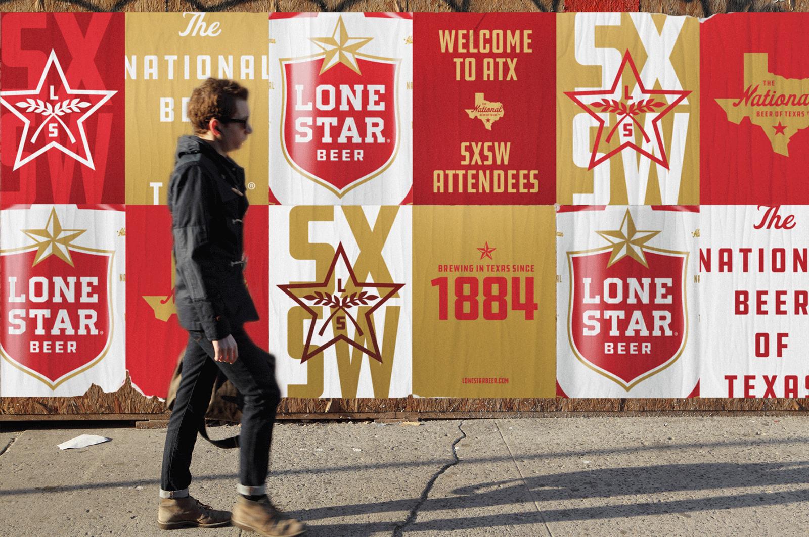 Lone Star孤星啤酒品牌更新全新的品牌VI视觉和包装设计-深圳VI设计11