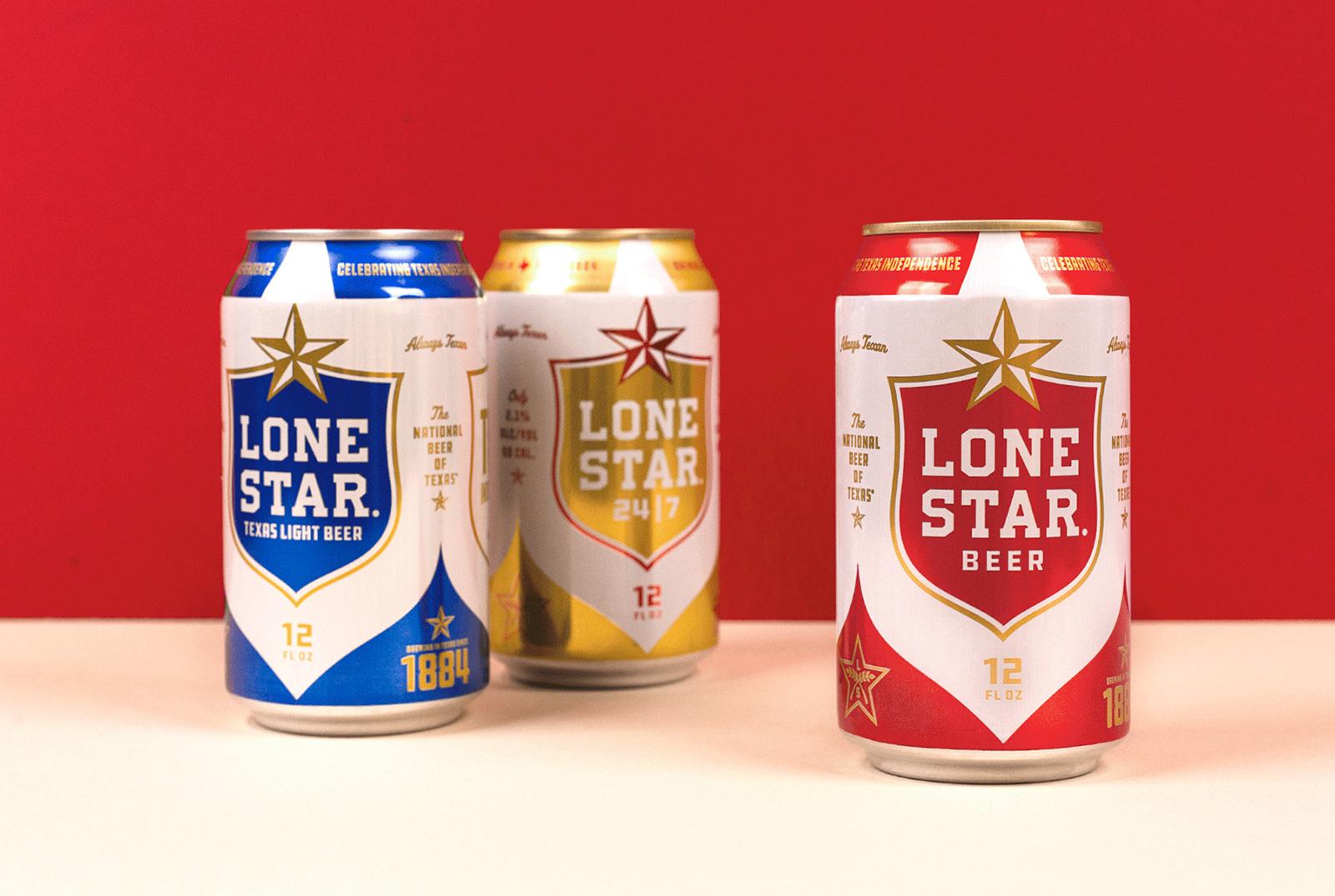 Lone Star孤星啤酒品牌更新全新的品牌VI视觉和包装设计-深圳VI设计13