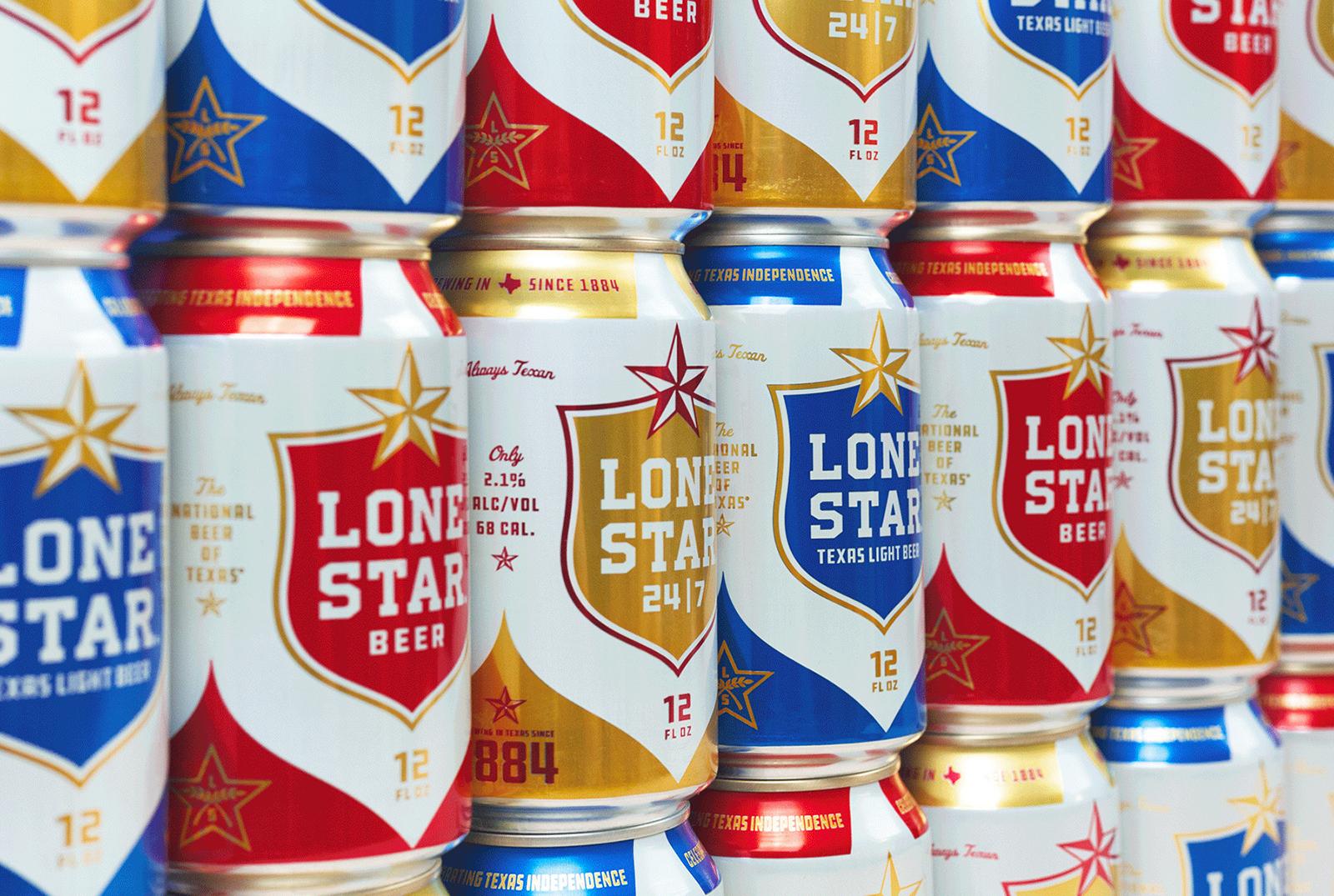 Lone Star孤星啤酒品牌更新全新的品牌VI视觉和包装设计-深圳VI设计16