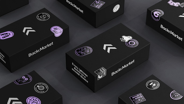 欧洲Back Market 3C数码平台启动全新的品牌VI形象设计-深圳VI设计9