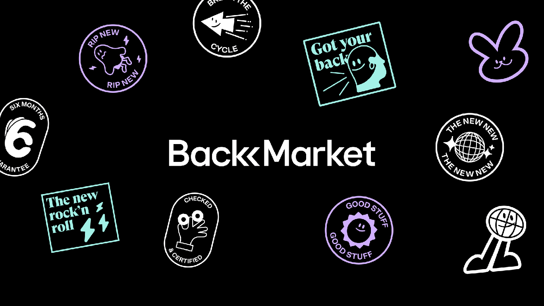 欧洲Back Market 3C数码平台启动全新的品牌VI形象设计-深圳VI设计6