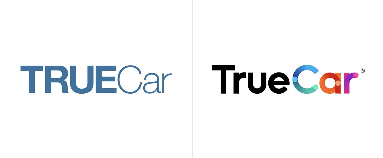 數字汽車市場TrueCar品牌啟用全新的品牌VI形象設計-深圳VI設計