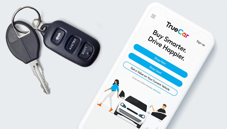 数字汽车市场TrueCar品牌启用全新的品牌VI形象设计-深圳VI设计3