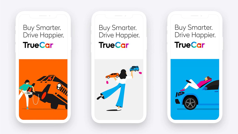 數字汽車市場TrueCar品牌啟用全新的品牌VI形象設計-深圳VI設計4