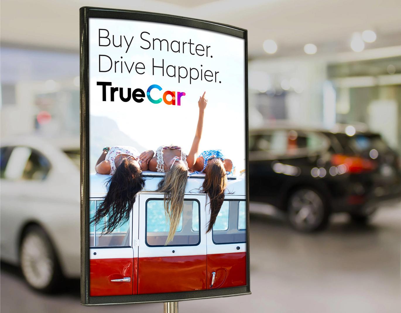 數字汽車市場TrueCar品牌啟用全新的品牌VI形象設計-深圳VI設計5