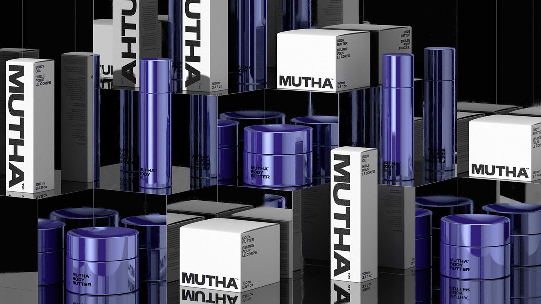 MUTHA護膚品牌上市,品牌VI形象和包裝設計發布-深圳VI設計2