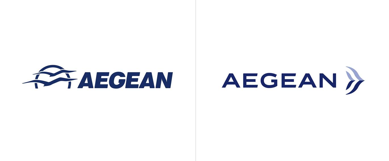 AEGEAN愛琴海航空公司啟用全新的品牌VI視覺形象設計-深圳VI設計