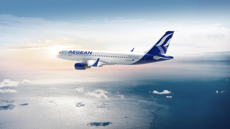 AEGEAN愛琴海航空公司啟用全新的品牌VI視覺形象設計-深圳VI設計8