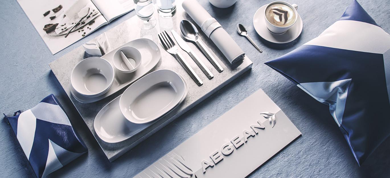 AEGEAN愛琴海航空公司啟用全新的品牌VI視覺形象設計-深圳VI設計11