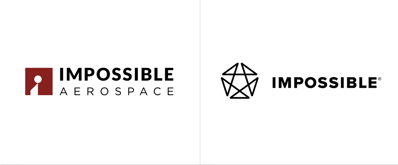 IMPOSSIBLE无人机品牌启用全新的品牌logo和VI视觉设计-深圳VI设计