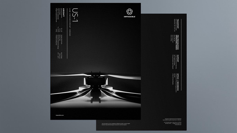 IMPOSSIBLE无人机品牌启用全新的品牌logo和VI视觉设计-深圳VI设计3