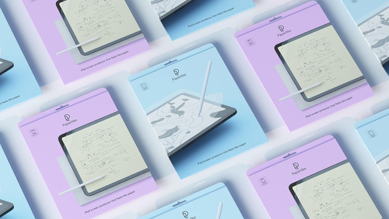 Paperlike屏幕保护膜品牌启用全新的品牌VI视觉形象设计-深圳VI设计7