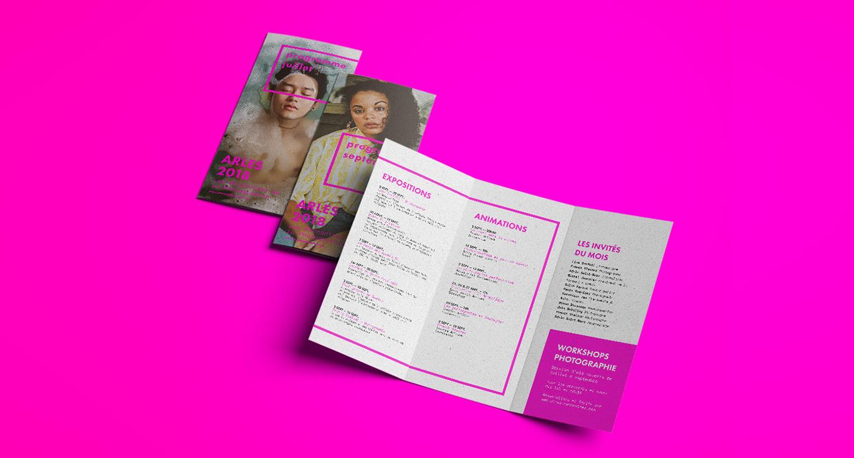 深圳VI設計發布:法國阿爾勒攝影展的品牌視覺VI設計欣賞-深圳VI設計7