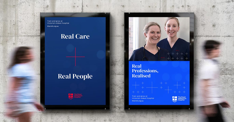 皇家墨爾本醫院啟用全新的品牌VI視覺系統設計-深圳VI設計9