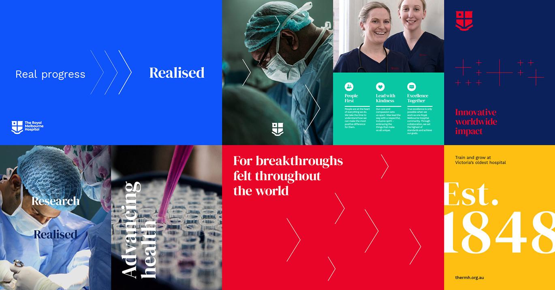 皇家墨爾本醫院啟用全新的品牌VI視覺系統設計-深圳VI設計7