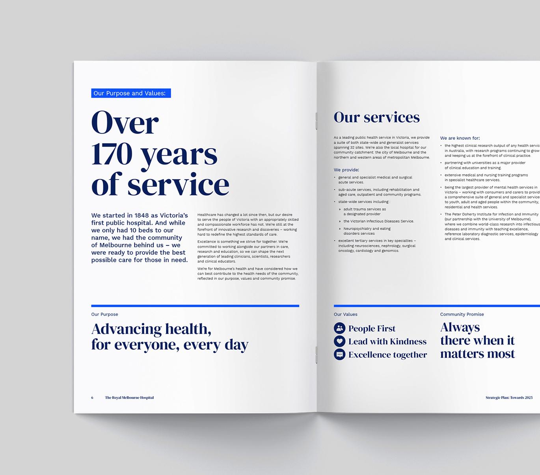 皇家墨爾本醫院啟用全新的品牌VI視覺系統設計-深圳VI設計5
