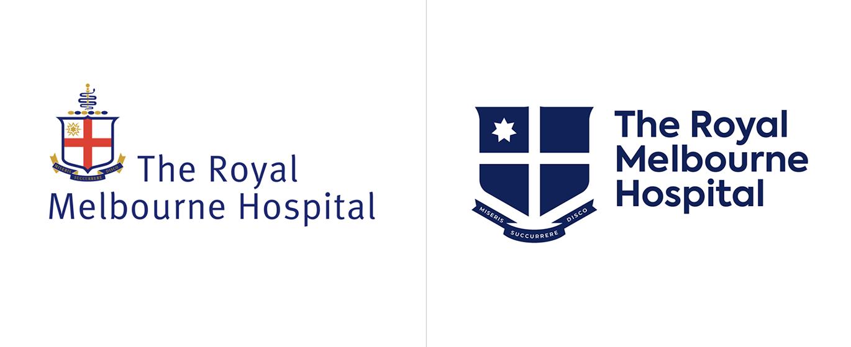 皇家墨爾本醫院啟用全新的品牌VI視覺系統設計-深圳VI設計