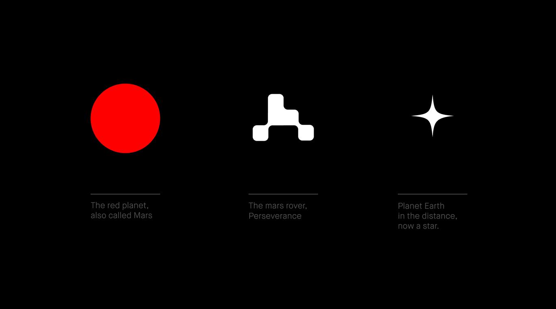 橙象VI設計公司整理發布:美國國家航空航天局火星2020任務發布全新的Logo設計-深圳VI設計1