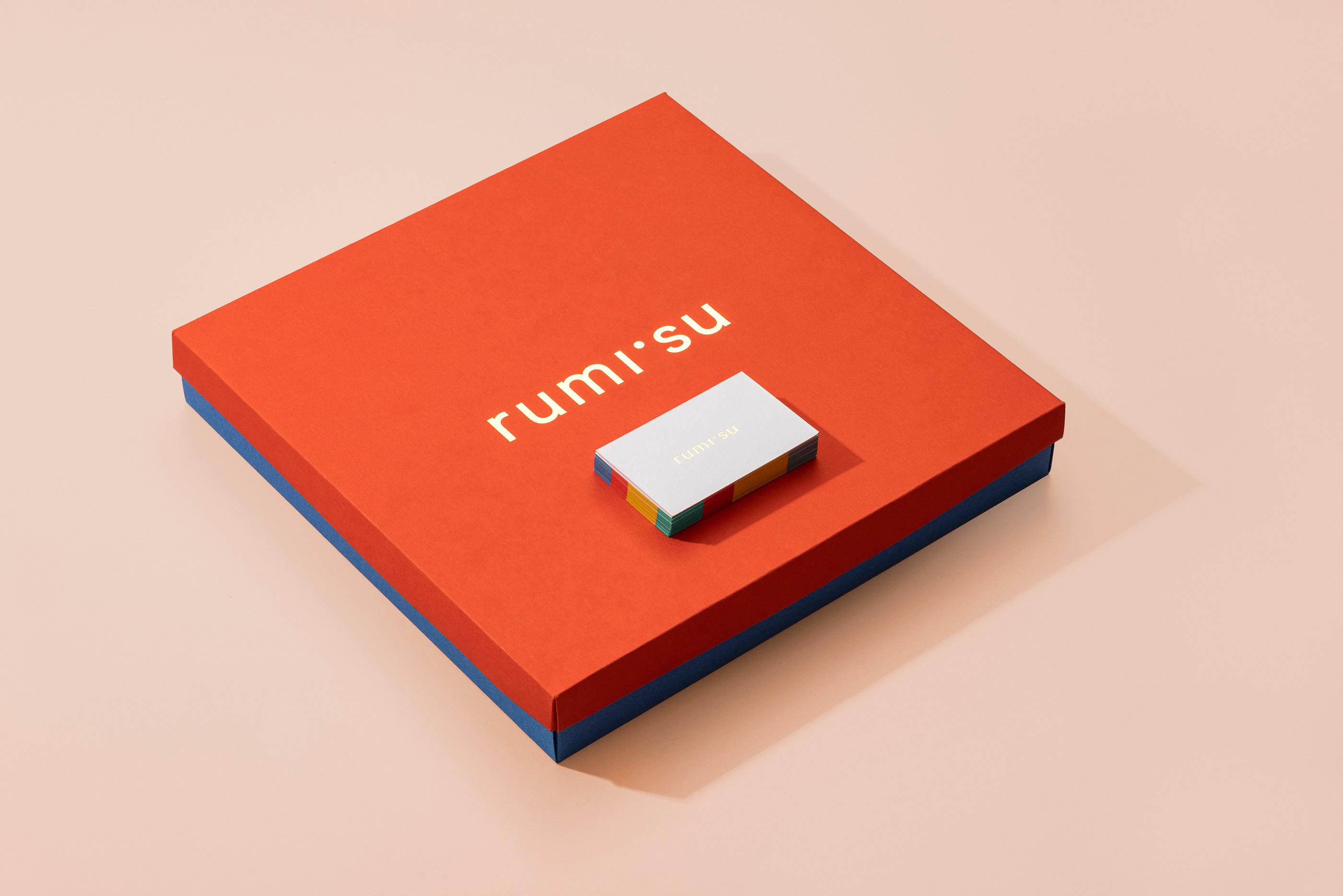 Rumisu原创设计配饰品牌的VI设计进行年轻化的品牌塑造-品牌VI设计2