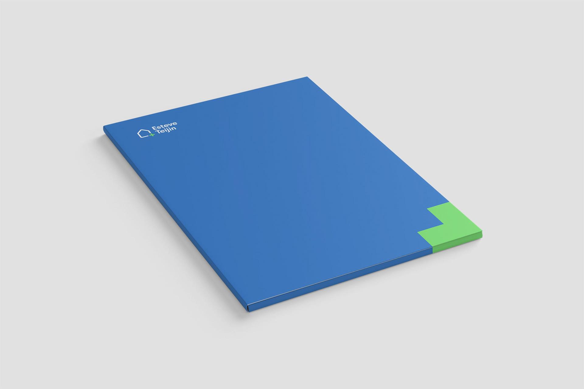 家庭健康治疗品牌Esteve Teijin的品牌VI设计欣赏-深圳VI设计4