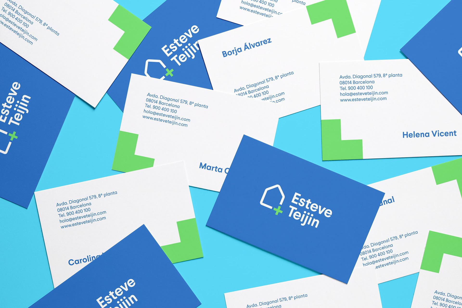 家庭健康治疗品牌Esteve Teijin的品牌VI设计欣赏-深圳VI设计2
