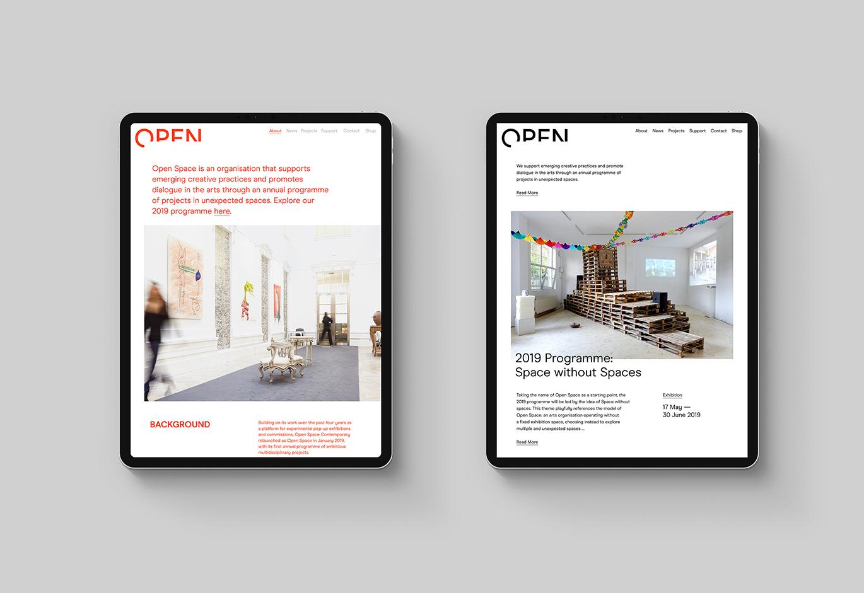 Open Space开放空间企业品牌VI视觉设计欣赏-深圳VI设计9
